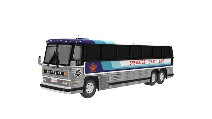 87-0234 / 1:87 1984 MCI MC-9 Brewster Gray Line