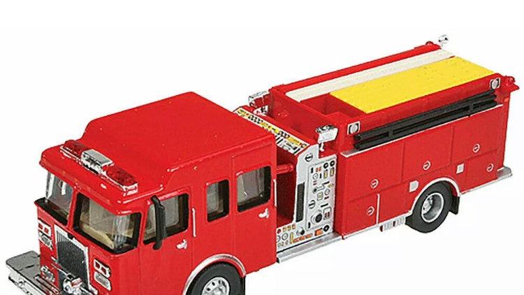 949-13800 / HO 1:87 Walthers Fire truck - pumper