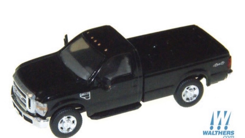 1:87 HO Scale Ford F-350 single cab pickup / River Point Station