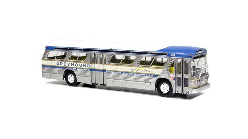 87-0151 / 1:87 Rapido GM New Look transit fishbowl bus 1964 New York Worlds Fair