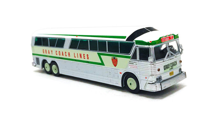 "87-0186 / 1:87 MCI MC-7 Challenger Motorcoach Gray Coach Lines ""Ottawa"""