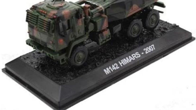 1:72 Battle Ground Replicas 2007 HIMARS M142 US Army