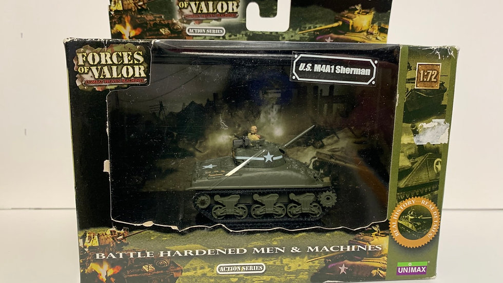 1:72 M4A1 Sherman Tank by Forces of Valour