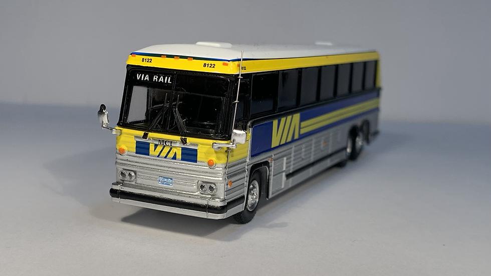 "87-0230 / 1:87 1984 MCI MC-9 VIA Rail ""VIA RAIL"" custom destination"