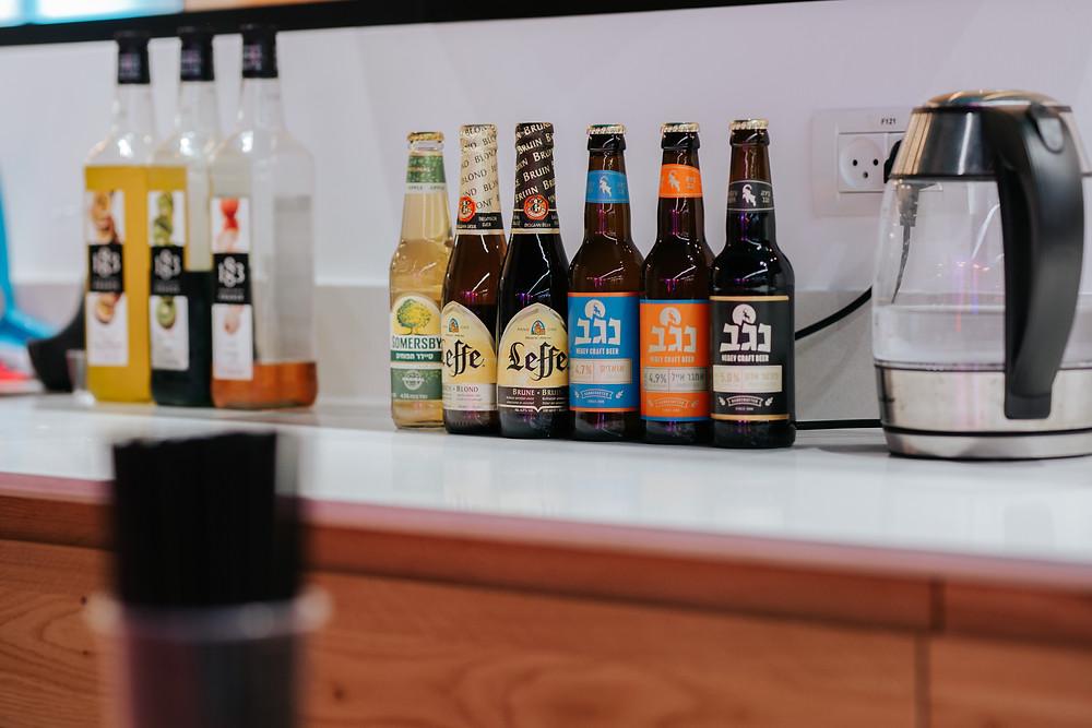 Beers at Wix Beer Sheva