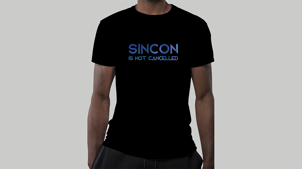 T-Shirt — SINCON Is Not Cancelled (Ladies)