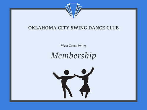 West Coast Swing Monthly Membership