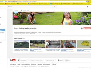 Youtube, Nuestro Nuevo Canal
