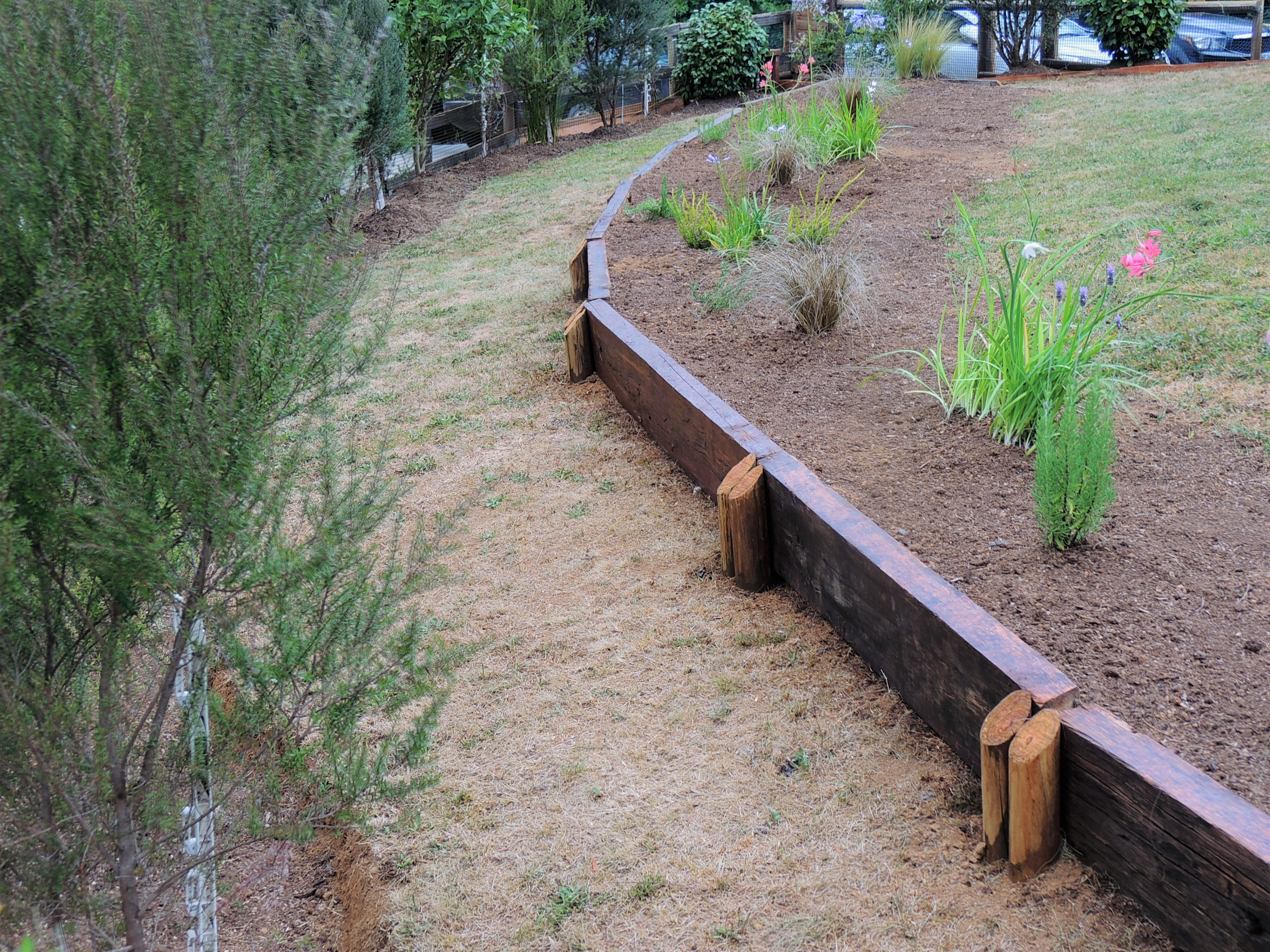 paisajismo valdivia cerco madera jardin madera construcción