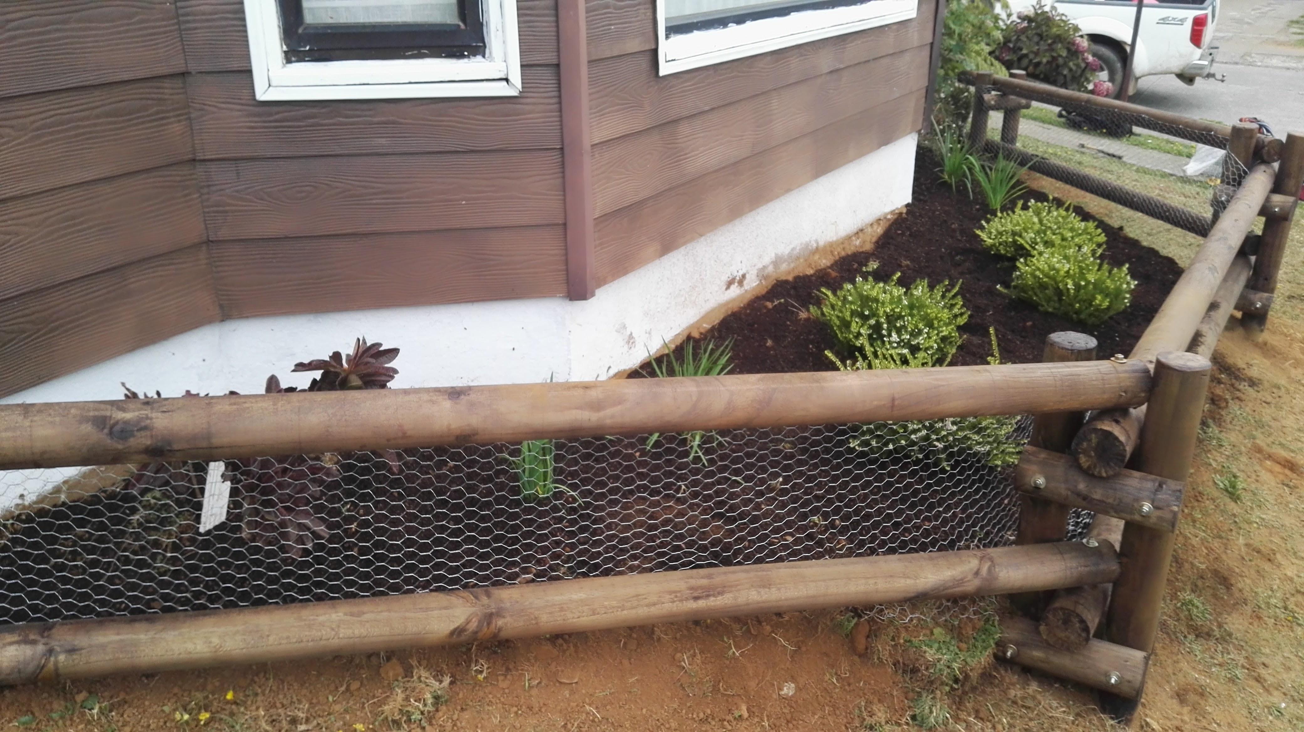 cerco polines jardineria