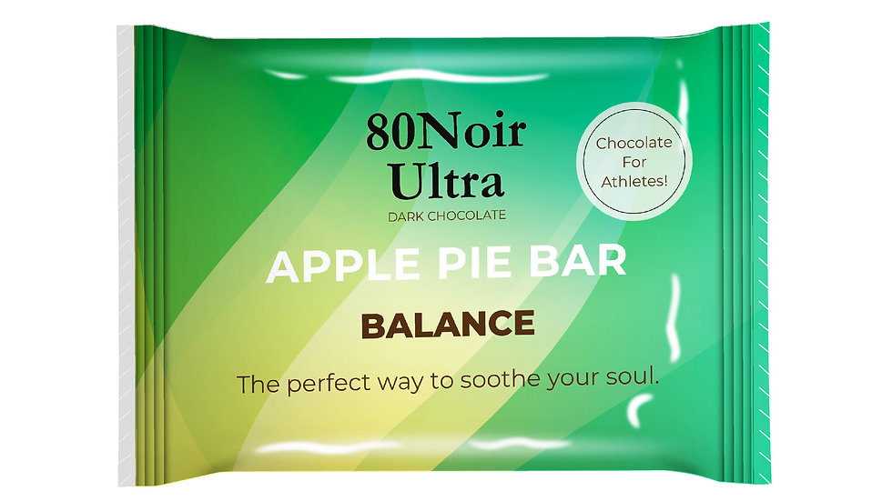 80Noir Ultra Apple Pie Bars