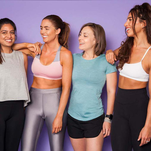 Empowering women to sweat