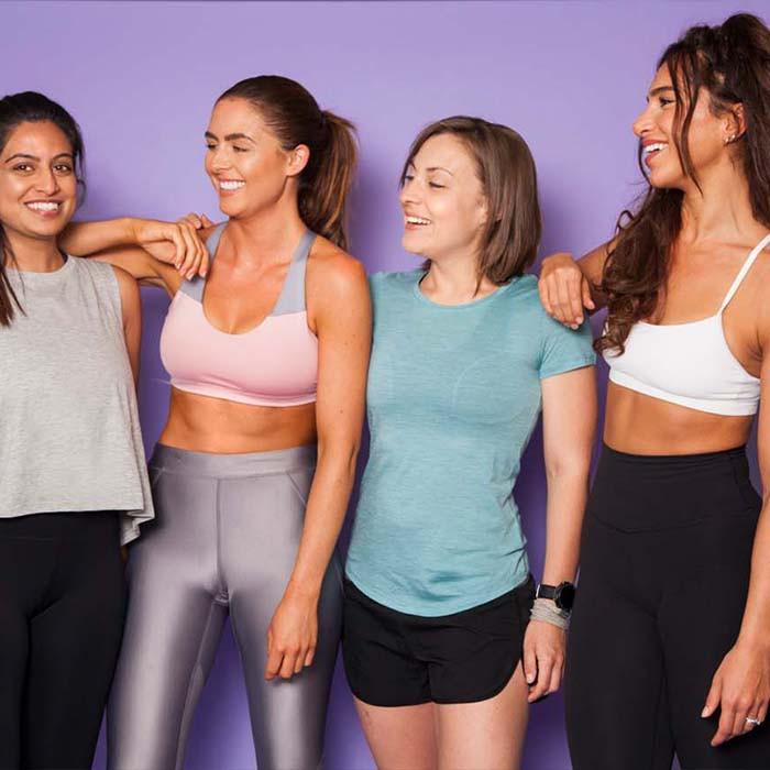 Empowering women to sweat