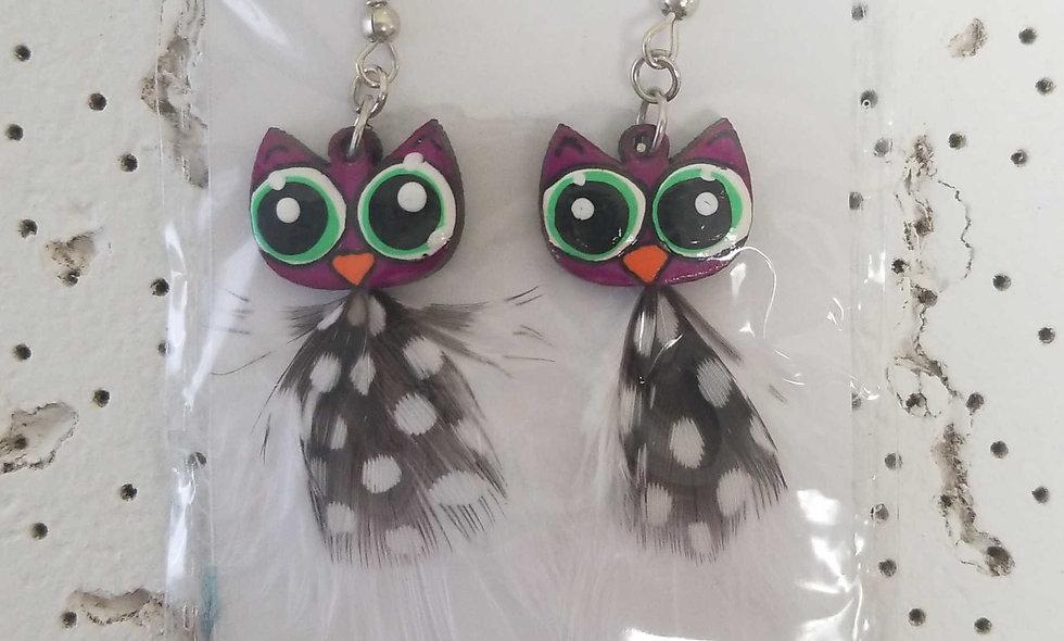 owl earings