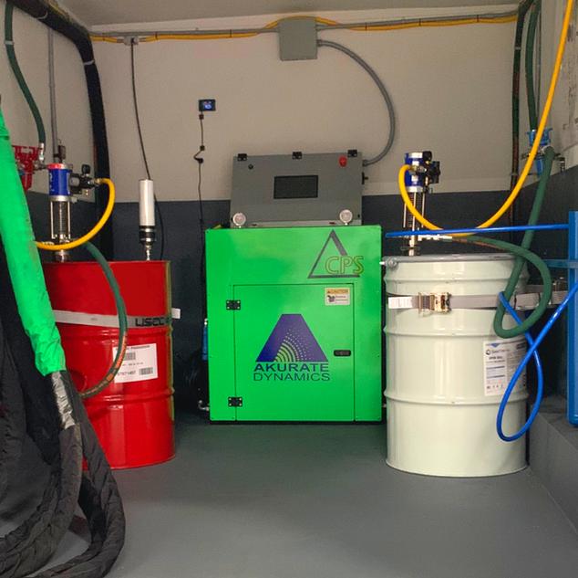 Deltalite Proportioner with Stick Pump System