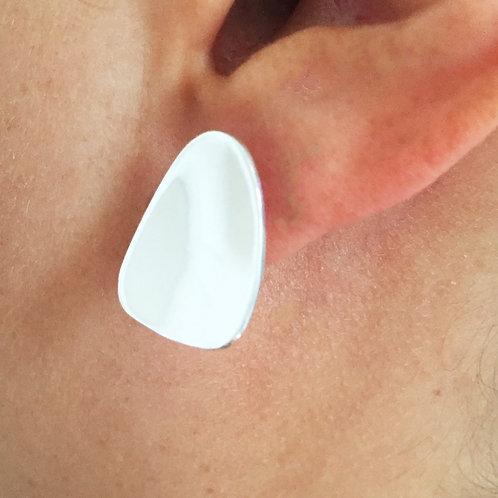 EK 934 Silver Earrings