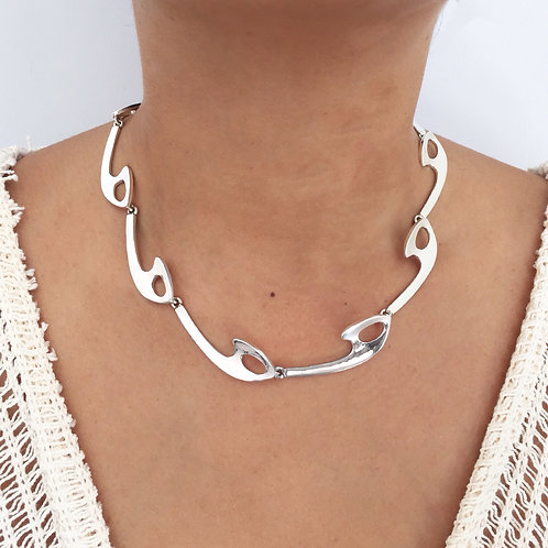 NK 980 Silver Necklace