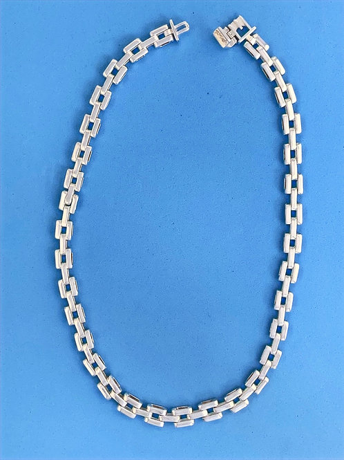 NK 133 Silver Necklace