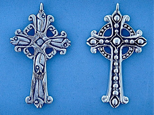 XK 859 Silver Necklace