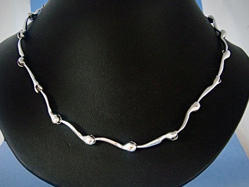 NK 666-45 Silver Necklace