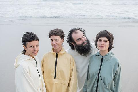 quartabê é: maria beraldo, joana queiroz, chicão e mariá portugal