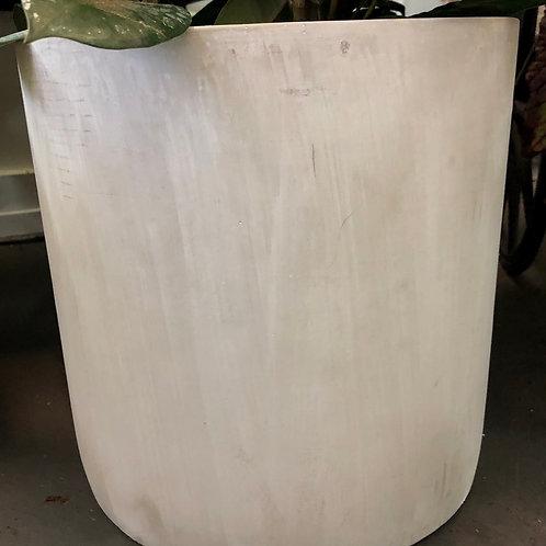 """Concrete Cylinder Pot 10"""""""