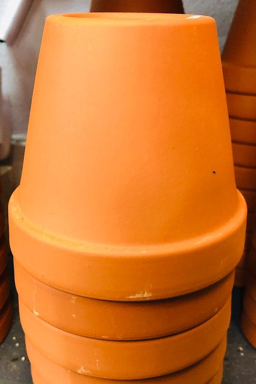 "7"" terracotta pot"