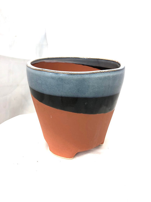 Terracotta with a Blue Glaze 2.5""