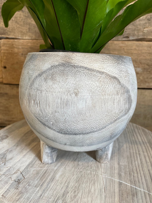 Wooden Pot Cover with Legs