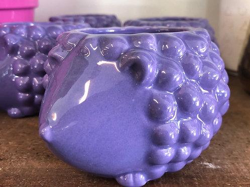 """The Purple Hedgehog (3"""" opening- 4"""" diameter)"""