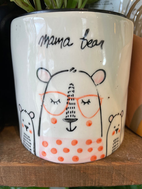 "Mama Bear Pot 4"""