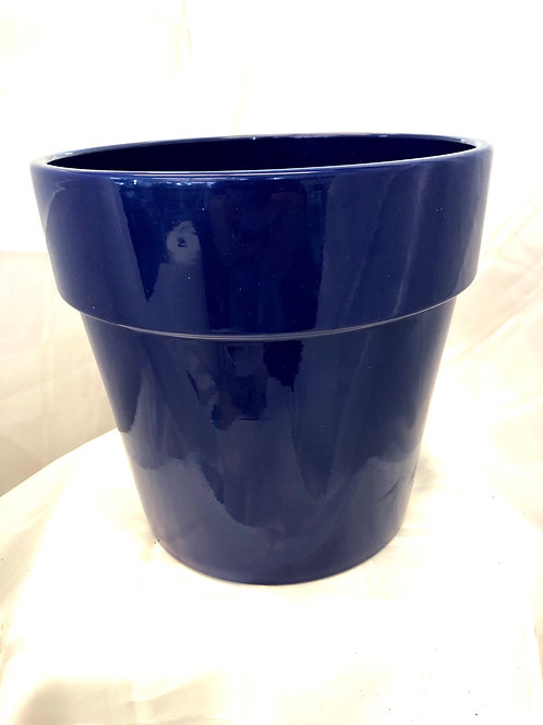 "Ink Blue Pot  8 """