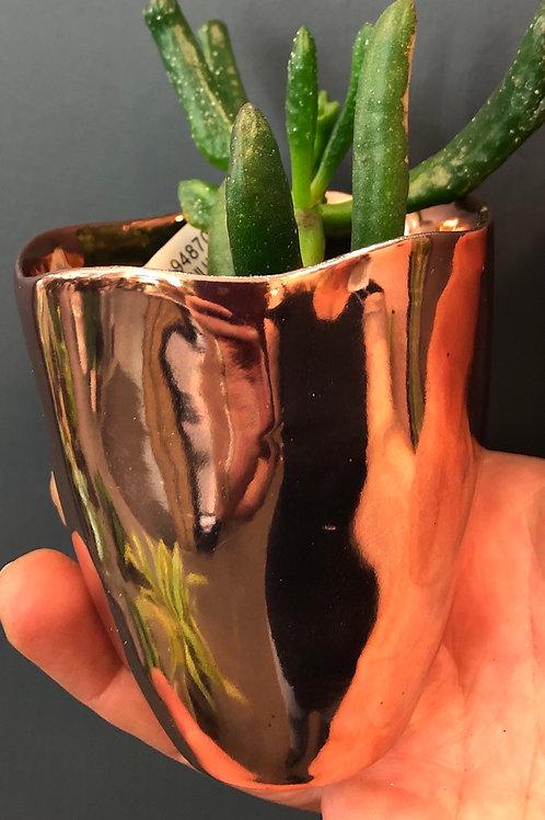 """Shiny Copper Pot 3"""""""