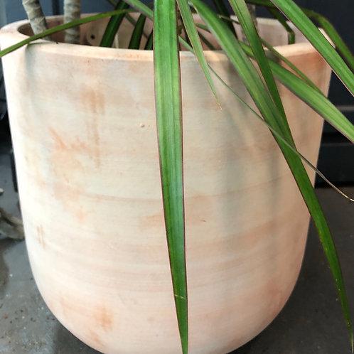 """Brushed Terracotta 13 """"diameter/ 15"""" ht"""