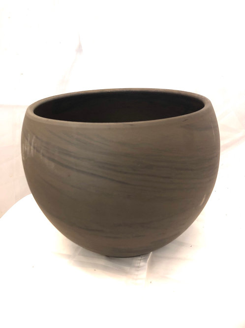 Terracotta Brown Pot 8""