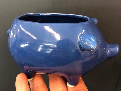 "Blue Pig 🐷 Pot 3"""