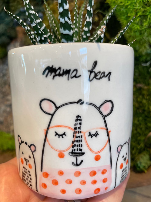 "Mama Bear Pot 3"""
