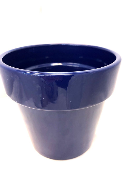 "Ink Blue Pot 6"""