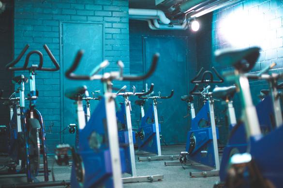 Liikuntakeskus Vida spinningsali