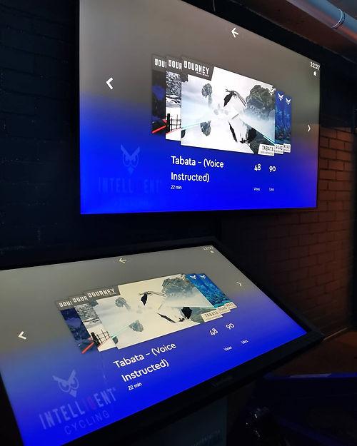 Liikuntakeskus Vida virtuaalisali