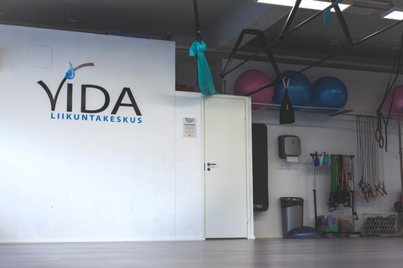 Liikuntakeskus Vida jumppasali
