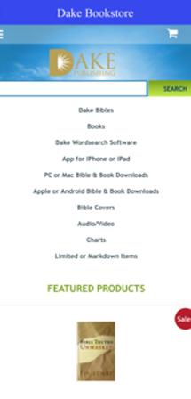 Dake publishing inc dake bible dake study bible home page bookstore fandeluxe Choice Image