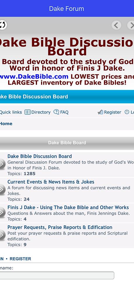 Dake publishing inc dake bible dake study bible dake discussion board fandeluxe Choice Image