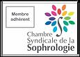 Membre adhérent de la Chambre Syndicale de la Sophrologie, premier réseau de sophrologues de France