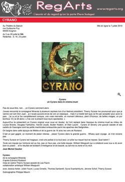 Regarts - Avignon 2019 - Cyrano