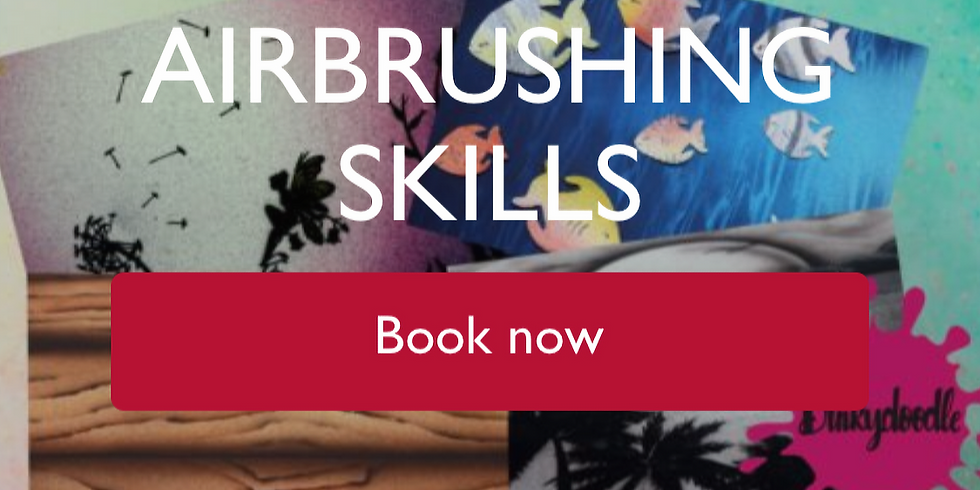 basic all round airbrushing class - £120