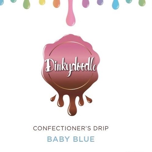 Baby Blue - Confectioner's Drip