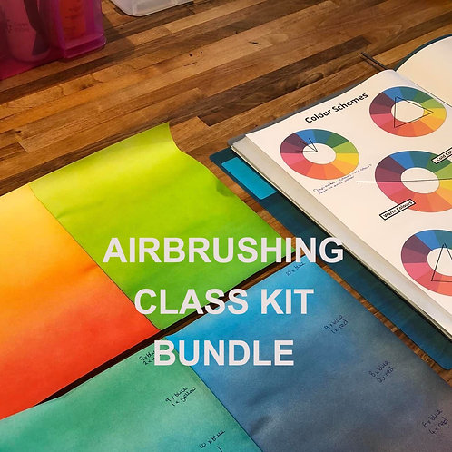 Confidence with Airbrushing class - kit bundle deal for students