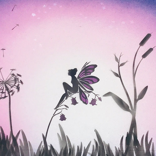 Multi- Part Fairy Stencil