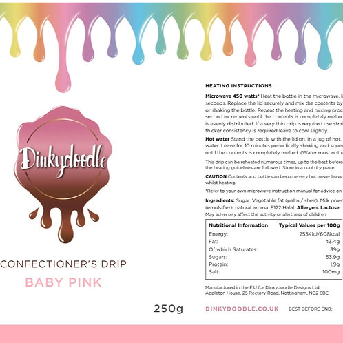 Baby Pink - Confectioner's Drip